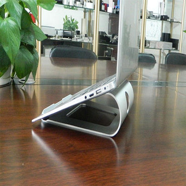 (Global Shop) Aluminum Alloy Portable Laptop Stand - EASYA - mylife-sa.myshopify.com