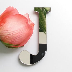 (Global Shop) New Acrylic Mirror 3D Letter Wall Stickers - Artistic Clock - mylife-sa.myshopify.com