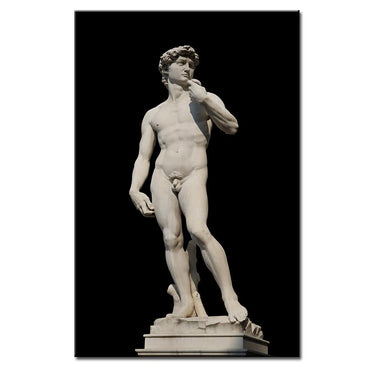 (Global Shop) Replica Michelangelos David Canvas Wall Picture