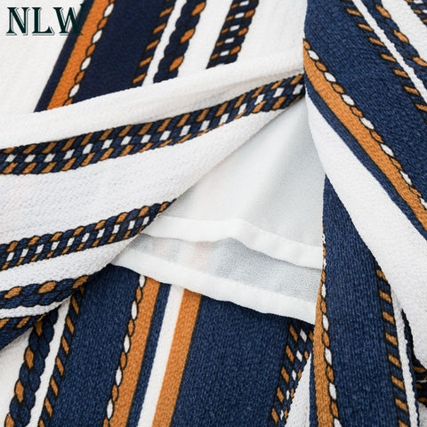 (Global Shop) Striped Wide Leg High Split Loose Casual Pant - NLWS Chris - mylife-sa.myshopify.com