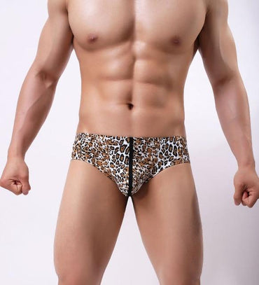 (Global Shop) 5pcs Men's Sexy Comfortable Printed Nylon Briefs