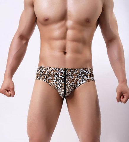 (Global Shop) 5pcs Men's Sexy Comfortable Printed Nylon Briefs - Deshanee Dress Point - mylife-sa.myshopify.com