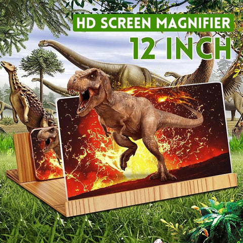 (Global Shop) Folding Design 3D Phone Screen Magnifier