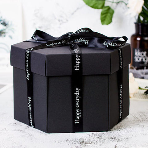 (Global Shop) Surprise Gift Photo Album Multi-layer Gifts Box