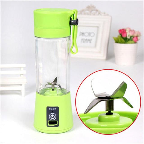 (Global Shop) Hand Portable USB Charging Mini Blender