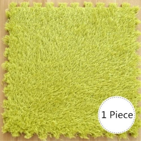 (Global Shop) EVA Foam Long Hair Soft Shaggy Carpet - Observe - mylife-sa.myshopify.com