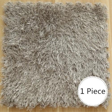 (Global Shop) EVA Foam Long Hair Soft Shaggy Carpet