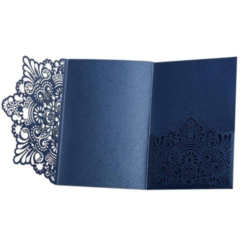 (Global Shop) 10pcs/set European Style Laser Cut Wedding Invitation Cards - AIHOME - mylife-sa.myshopify.com