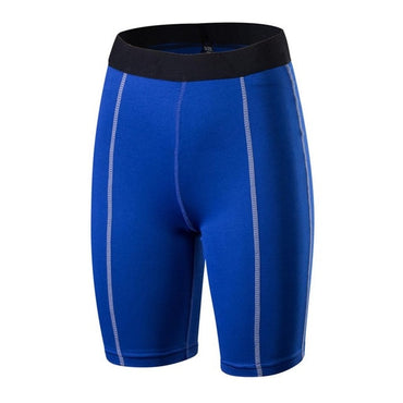 (Global Shop) Women Attractive Solid Color Yoga Gym Fit Short