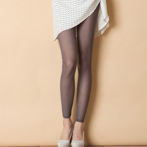 (Global Shop) Woman High Waist Transparent Sexy Mesh Leggings - Deshanee Dress Point - mylife-sa.myshopify.com