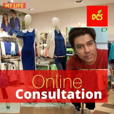 Readymade Garments Showroom Online Consulting By Shantha Rodrigo - Deshanee Consultancy Service - mylife-sa.myshopify.com