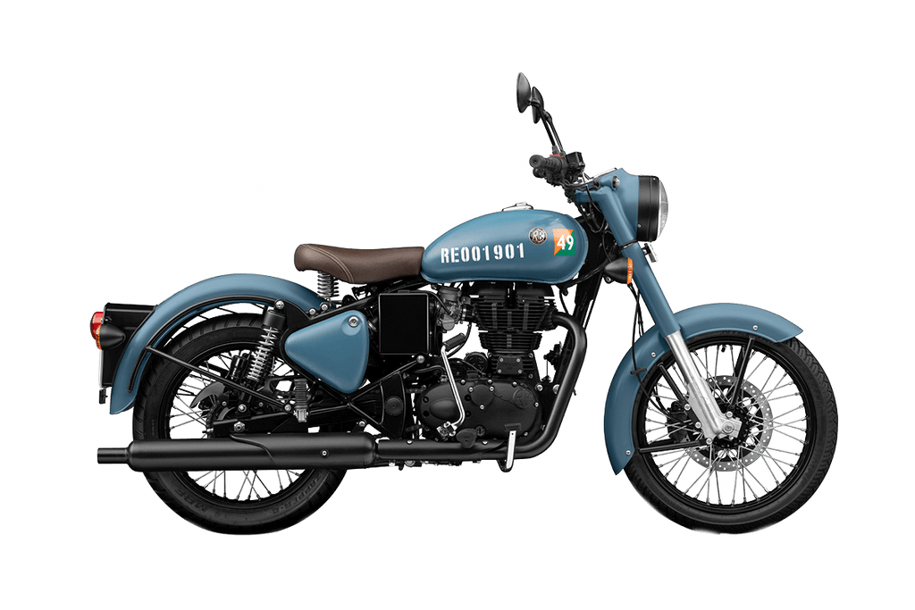 Royal Enfield Classic Signals Edition ABS  350CC Motor Bike