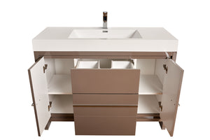 "Multifamily- Alicante 47"" Bathroom Vanity-Maison Bertet Online"