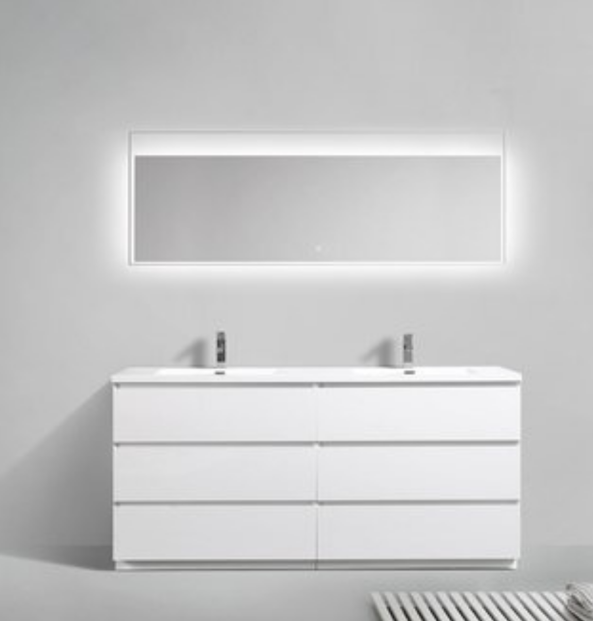 "Los Angeles 72"" Bathroom Vanity-Maison Bertet Online"