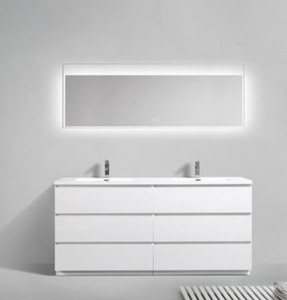 "Multifamily- Los Angeles 72"" Bathroom Vanity-Maison Bertet Online"