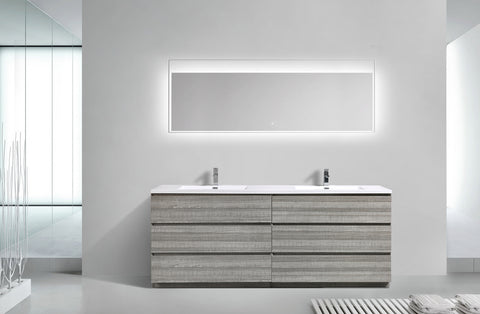 "Los Angeles 84"" Bathroom Vanity-Maison Bertet Online"