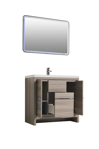 "Multifamily- Alicante 36"" Bathroom Vanity-Maison Bertet Online"