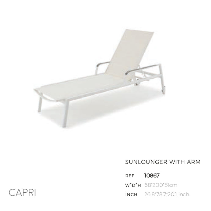 Capri Lounge Chair (with & without arms)