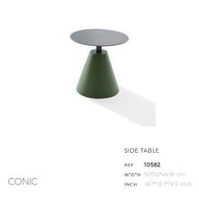 Load image into Gallery viewer, Conic Side Table