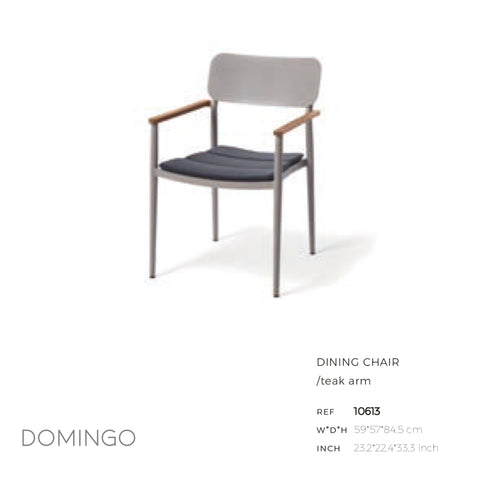 Domingo Dining Arm Chair