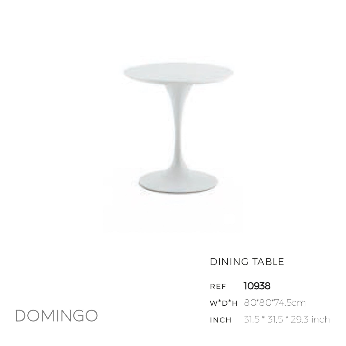 Domingo Round Dining Table