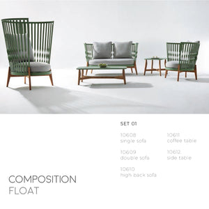 Float Tall Club Chair