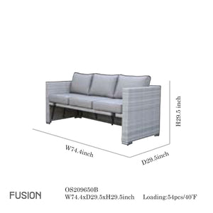 Fushion Sofa Set