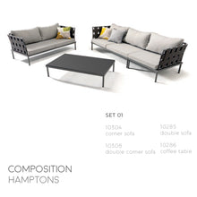 Load image into Gallery viewer, Hamptons Sofa Set-Maison Bertet Online