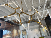 Load image into Gallery viewer, Modern Gold Chandelier