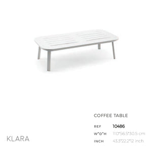 Klara White Coffee Table-Maison Bertet Online