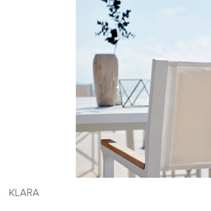 Klara Dining Arm Chair (folds)-Maison Bertet Online