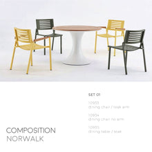 Load image into Gallery viewer, Norwalk Dining Collection-Maison Bertet Online