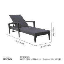 Load image into Gallery viewer, Ovada Lounge Chair-Maison Bertet Online