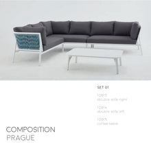 Load image into Gallery viewer, Prague Sofa Set-Maison Bertet Online