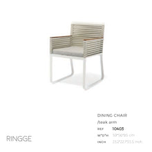 Load image into Gallery viewer, Ringge Dining Arm Chair-Maison Bertet Online