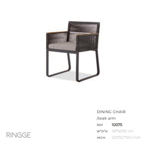Ringge Dining Arm Chair-Maison Bertet Online