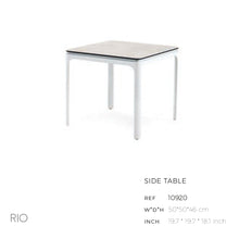Load image into Gallery viewer, Rio Side Table-Maison Bertet Online