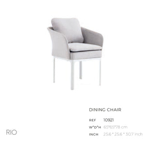 Rio Dining Arm Chair-Maison Bertet Online