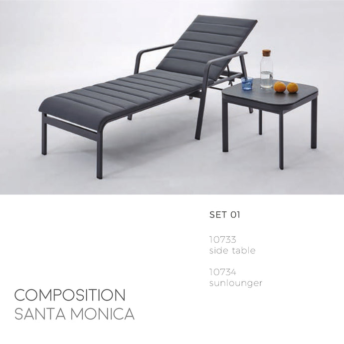 Santa Monica Lounge Chair-Maison Bertet Online
