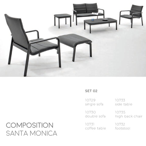 Santa Monica Coffee Table-Maison Bertet Online