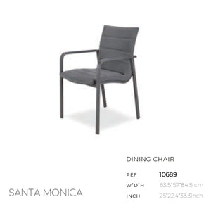 Santa Monica Dining Arm Chair-Maison Bertet Online