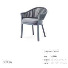Load image into Gallery viewer, Sofia Dining Arm Chair-Maison Bertet Online