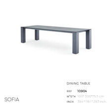 Load image into Gallery viewer, Sofia Dining Table-Maison Bertet Online
