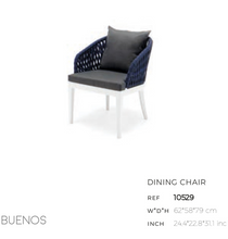 Load image into Gallery viewer, Buenos Dining Arm Chair
