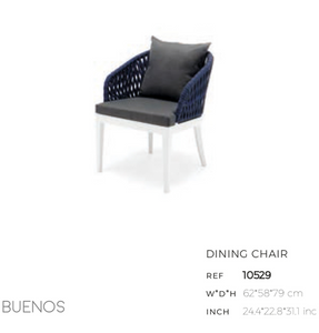 Buenos Dining Arm Chair