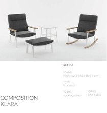 Load image into Gallery viewer, Klara Rocking Chair-Maison Bertet Online