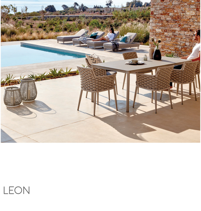 Leon Dining Arm Chair-Maison Bertet Online