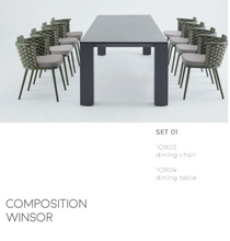 Load image into Gallery viewer, Winsor Dining Table-Maison Bertet Online
