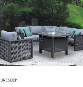 Dresden Sofa Set