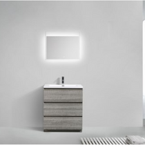 "Load image into Gallery viewer, Los Angeles 30"" Bathroom Vanity-Maison Bertet Online"